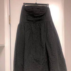 Torrid Black strapless dress w/pockets  size 16